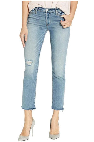 Citizens of Humanity Elsa Mid Rise Slim Fit Crop in Cadence