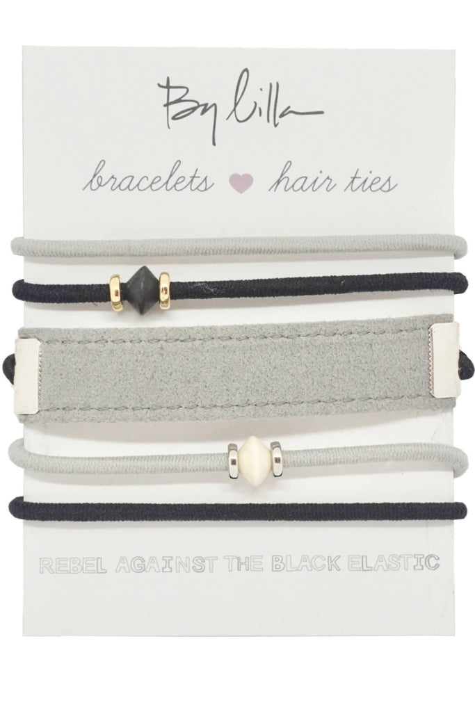 By Lilla Curated Elastic Mini Stacks
