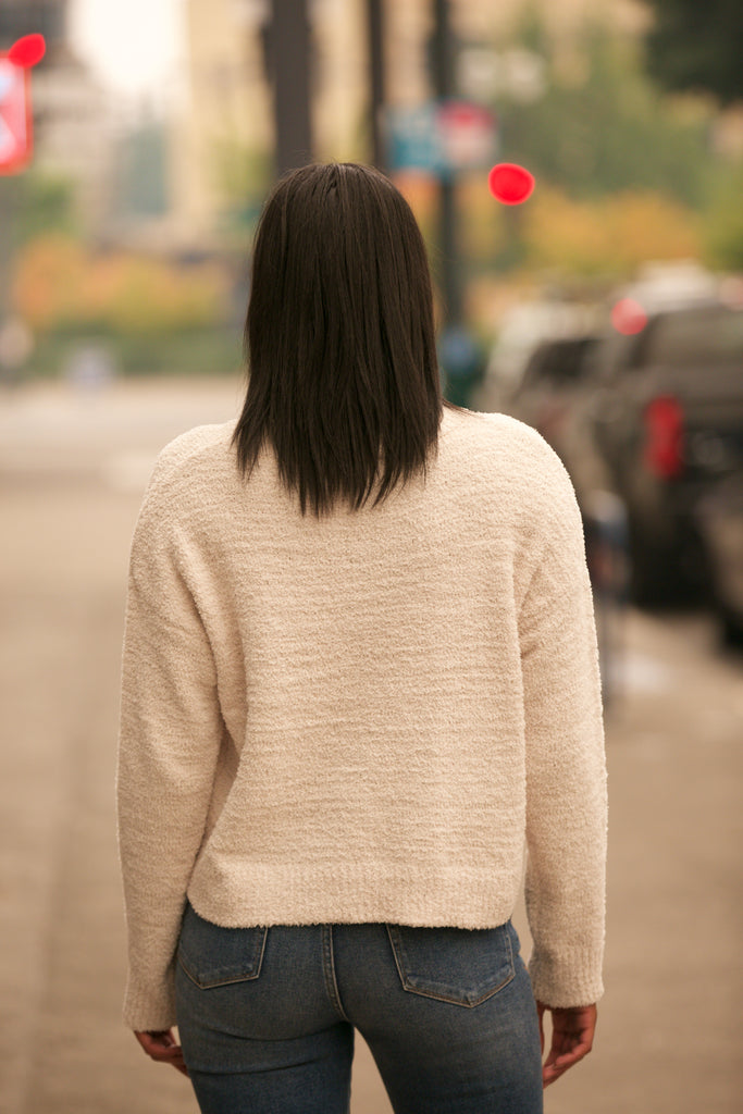 ADORN Drop Shoulder Sweater