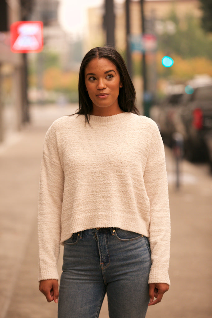 ADORN Drop Shoulder Sweater Alpaca