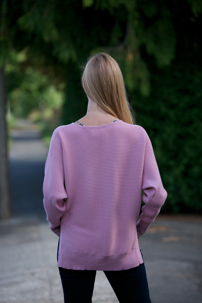 ADORN Dolman Sweater Light Salmon