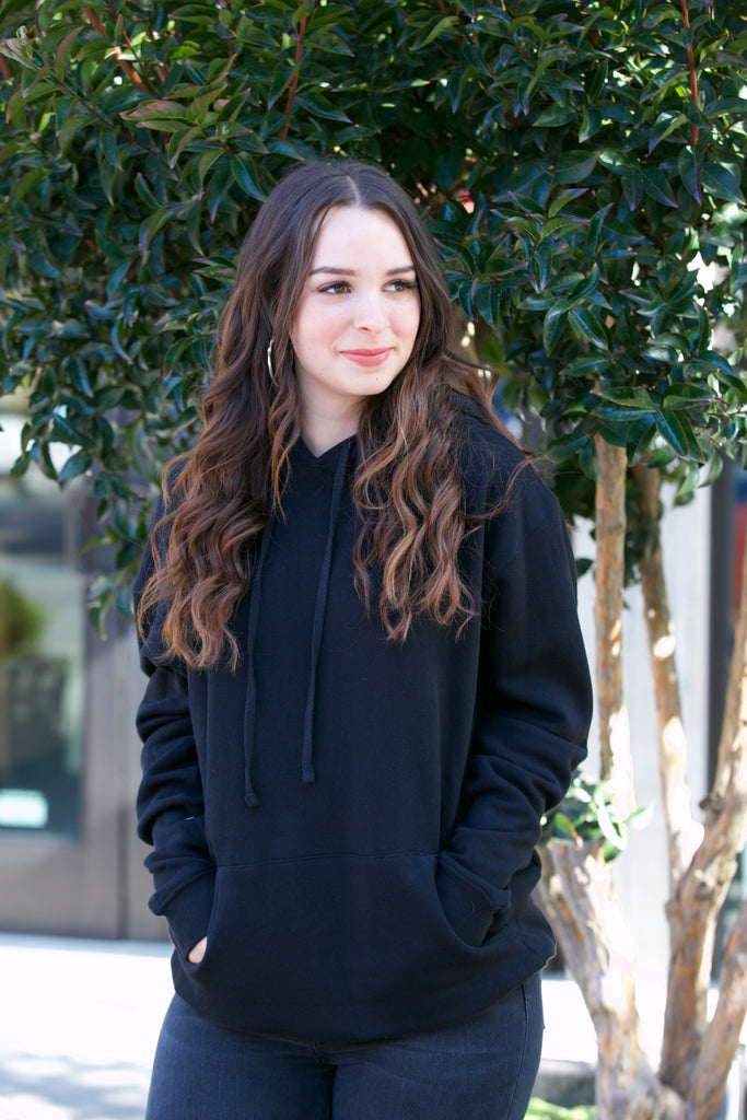 ADORN Hooded Sweatshirt Black