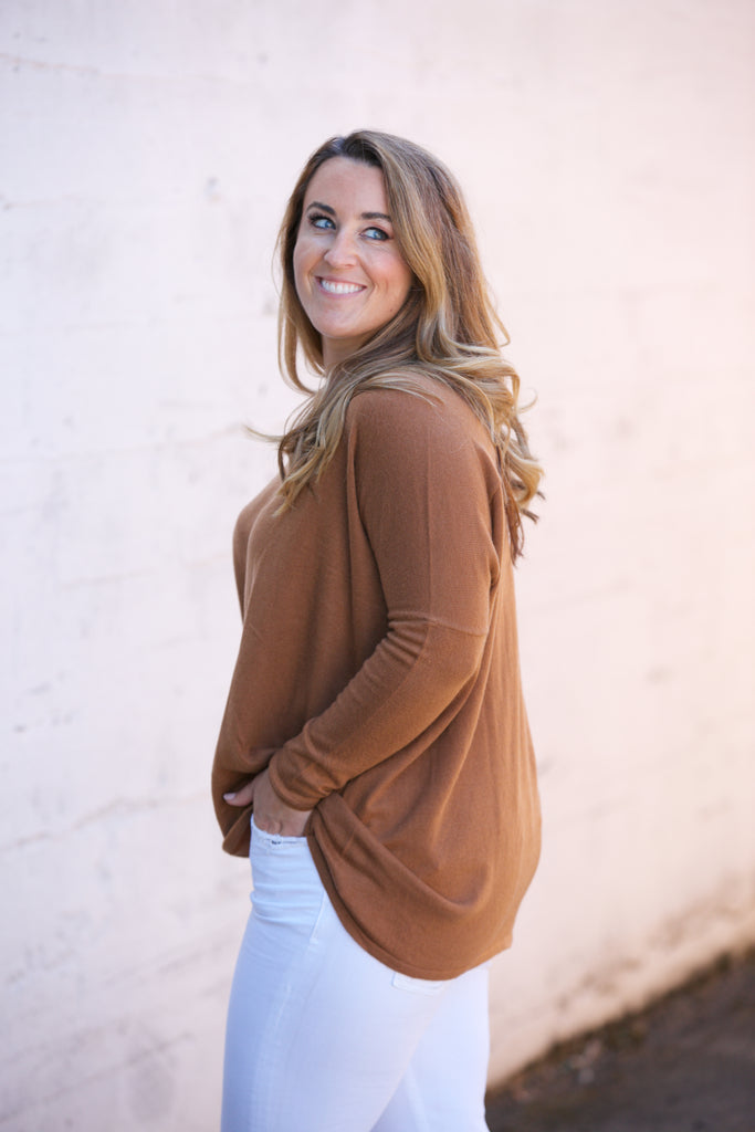 ADORN Slouchy Tunic Top