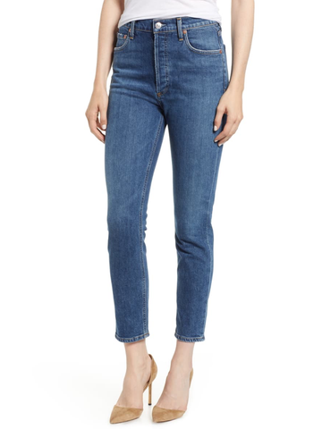 Hudson Barbara High Waist Super Skinny Ankle in Recharge