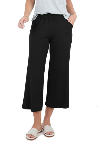 SARAH LILLER SF Aida Cropped Easy Pants