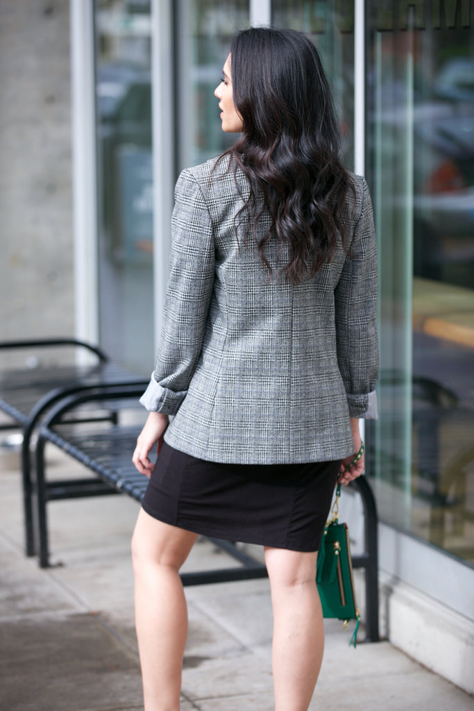 Bailey 44 Linden Plaid Blazer
