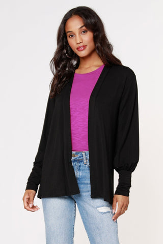 BLACK TAPE 3/4 Sleeve Blouse