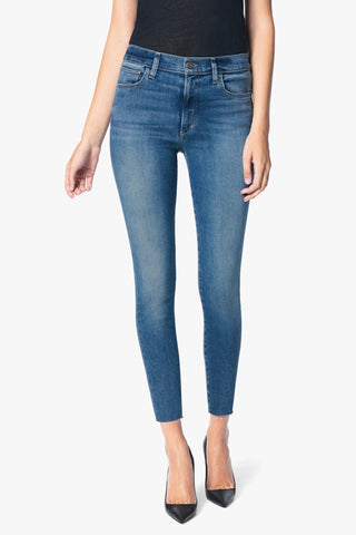 JOE'S JEANS The Charlie Crop Cut Hem in Snapdragon