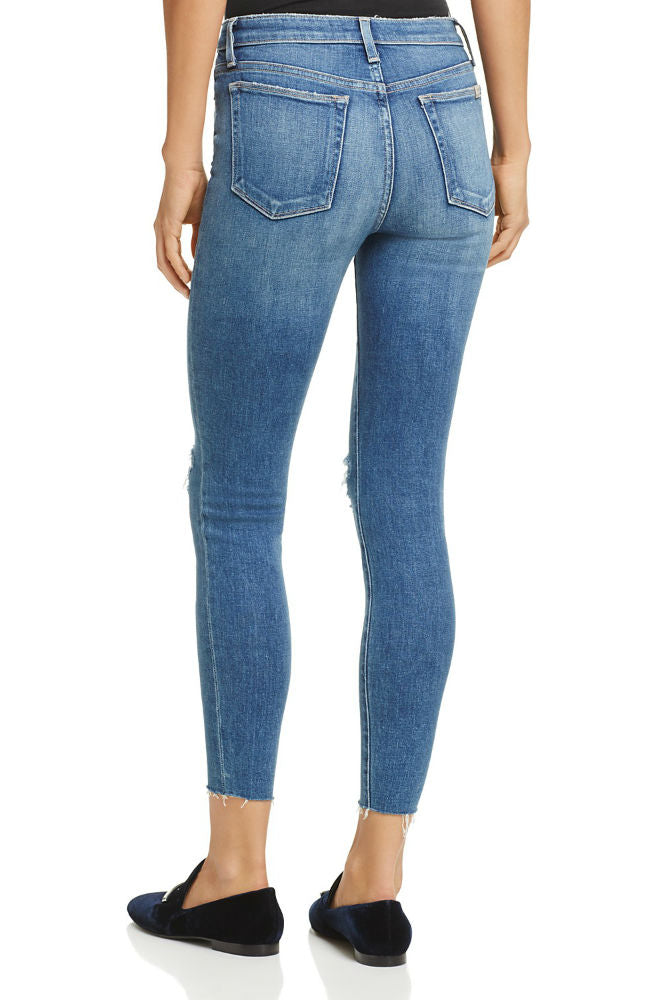JOE'S JEANS The Charlie High Rise Skinny Ankle in Kinkade