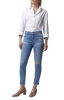 Citizens of Humanity Rocket Crop Mid Rise Skinny in Keeper