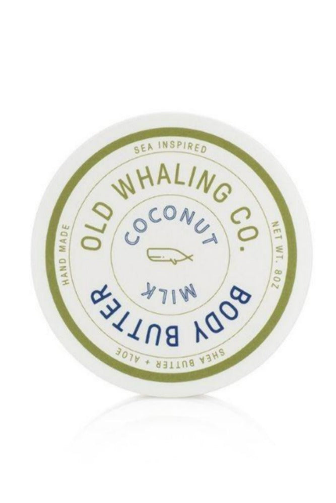 Old Whaling Company Body Butter 8oz Coconut