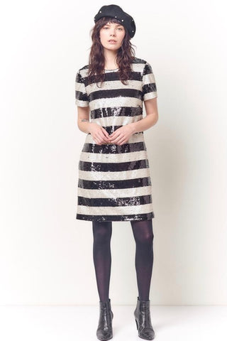 Hard Tail Ruched Cap Sleeve Dress - Fall