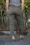 CURRENT/ELLIOTT The Tabloid Pant Rural Green