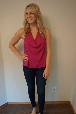 David Lerner Eva Scoop Neck Cami