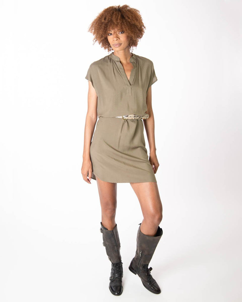 TYSA Travel Dress Olive