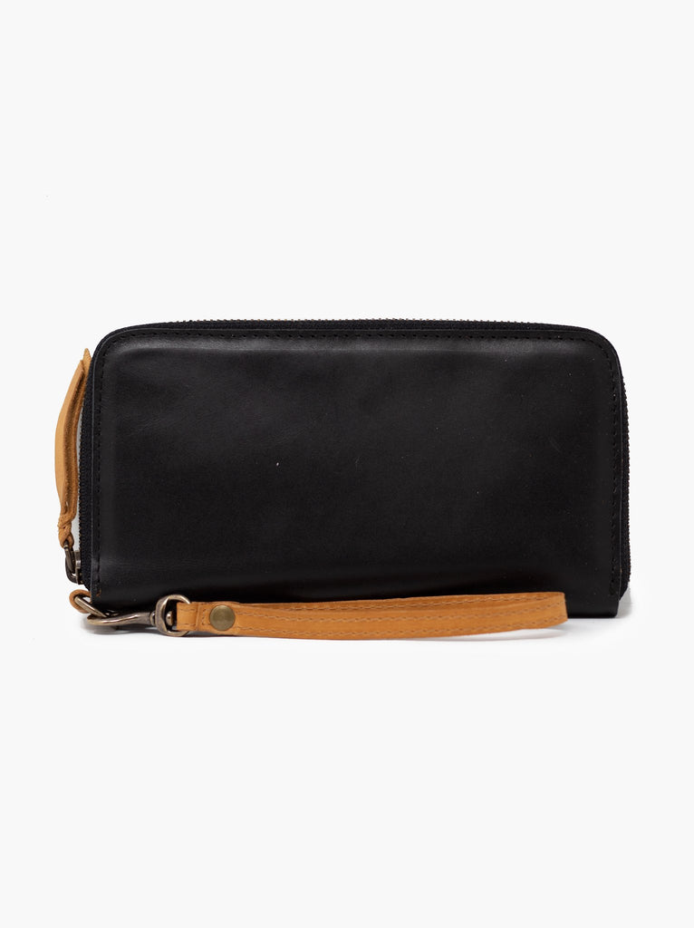 ABLE Alem Continental Wallet Black