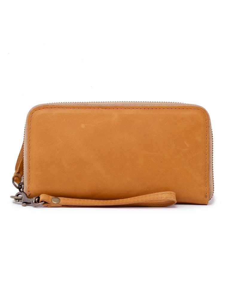 ABLE Alem Continental Wallet Cognac
