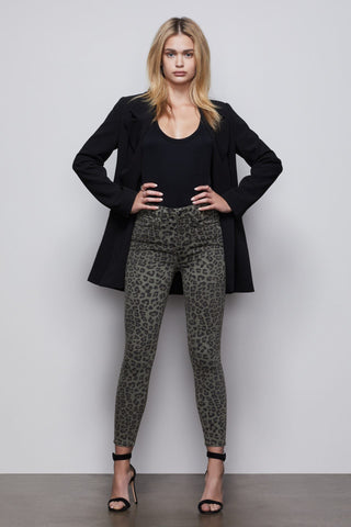 HOLIDAY Leopard Print Wide Leg Pants