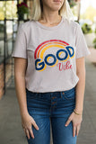 ADORN LOVE Good Vibes Tee