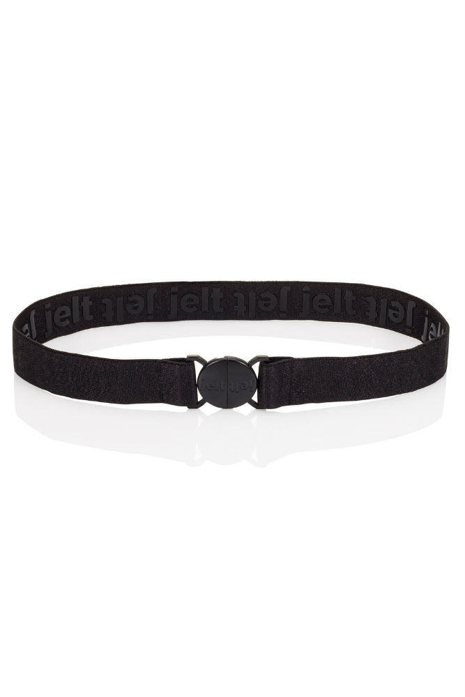 Jelt Elastic Belt in Black Granite