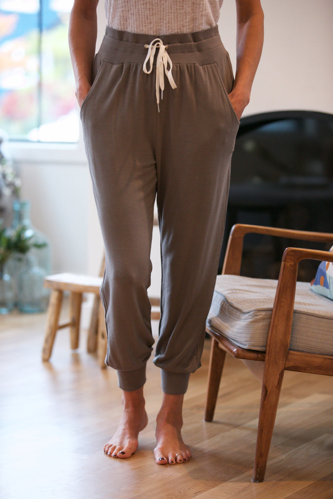 HOLIDAY Soft Drawstring Joggers