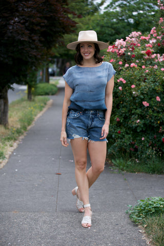 SOJARA Denim Shorts