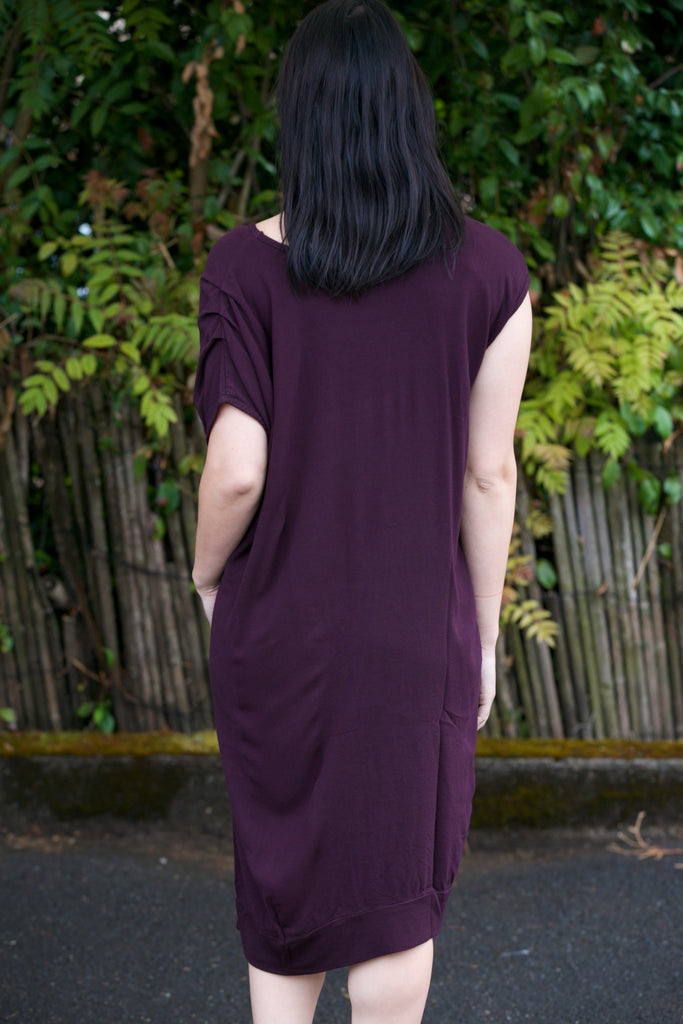 Hard Tail Slouchy Asymmetrical Dress - Fall