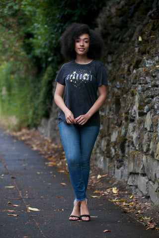 ADORN Salty Vibes T-Shirt in Black