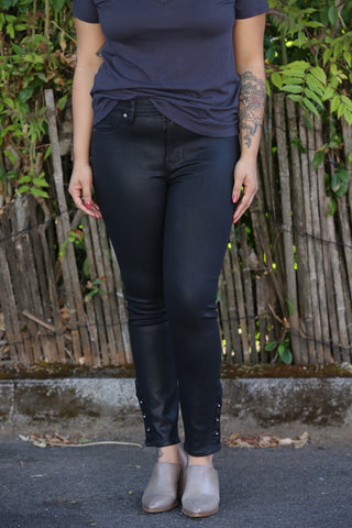 Fidelity Stevie Crop in Venice Blue