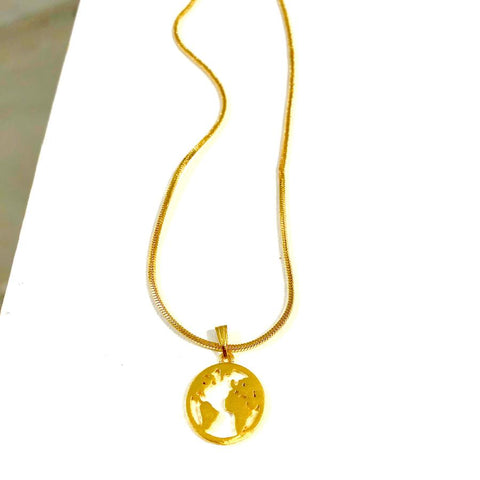 Elk Cog Short Necklace