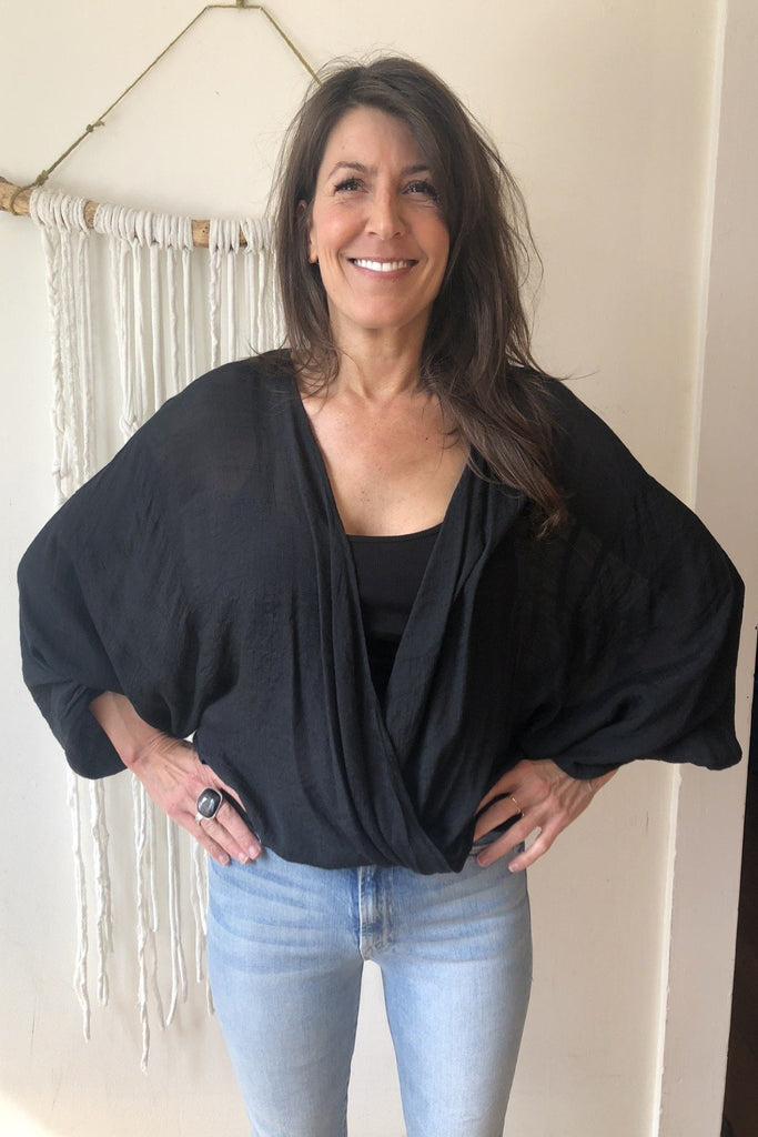 ADORN Crossover Blouse