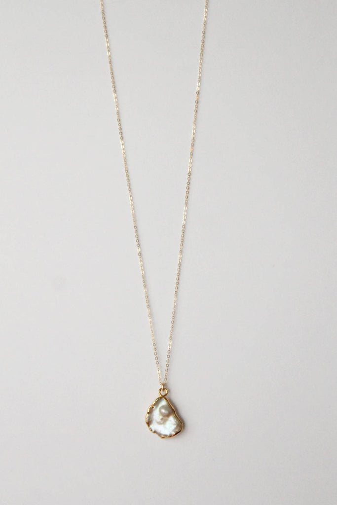 Leslie Francesca Freeform Pearl Pendant Necklace