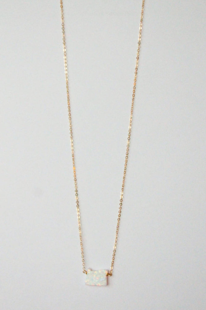 Leslie Francesca Opal State Necklace