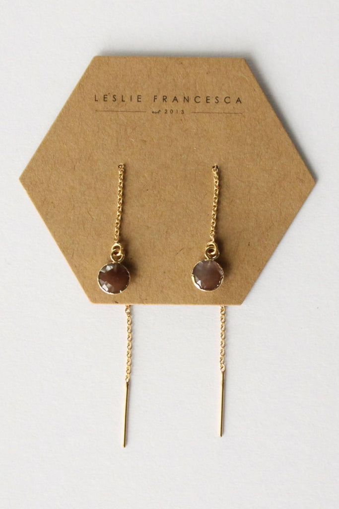 Leslie Francesca Gemstone Ear Threader
