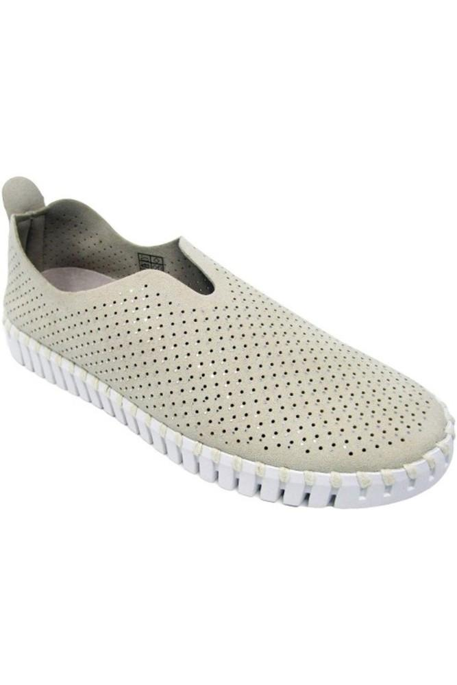 Ilse Jacobsen Luxe Tulip Slip-On w/White Sole in Kit