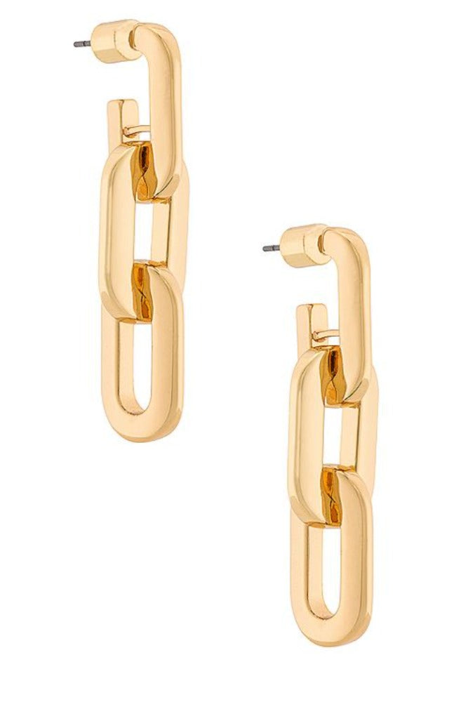 Jenny Bird Toni Drop Earrings Gold