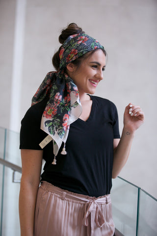 LA Made Zingo Scarf Slub - FINAL SALE