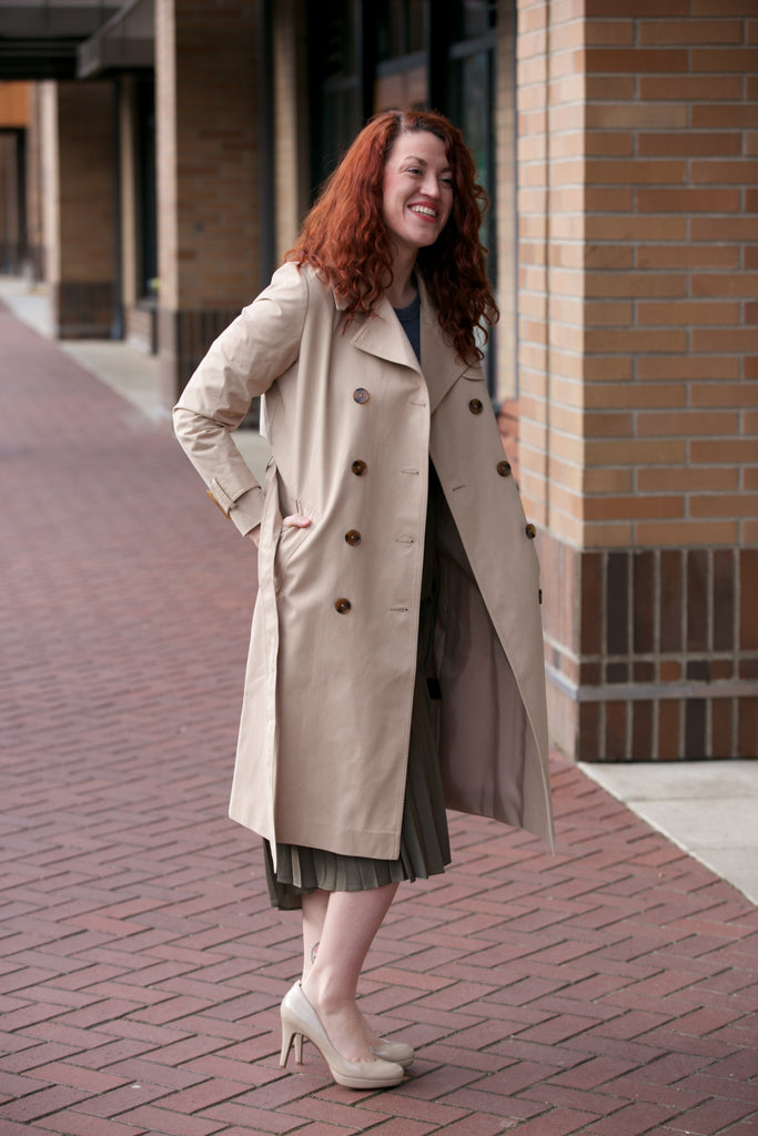 Just Female Rhye Trench Coat