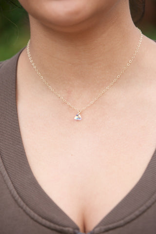 Joy Dravecky Sunstone Fortune Necklace