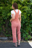 LACAUSA Marcel Overalls in Strawberry