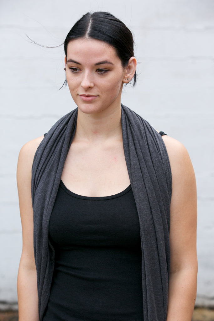 LA Made Zingo Scarf Anthracite