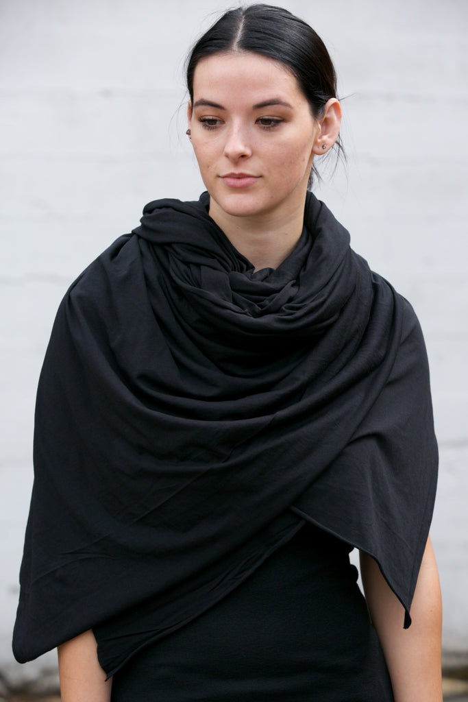 LA Made Zingo Scarf Black