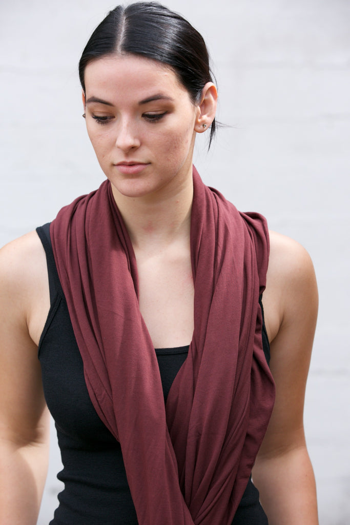 LA Made Zingo Scarf Decadent Chocolate