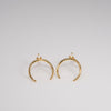 Leslie Francesca Arch Earrings Opal