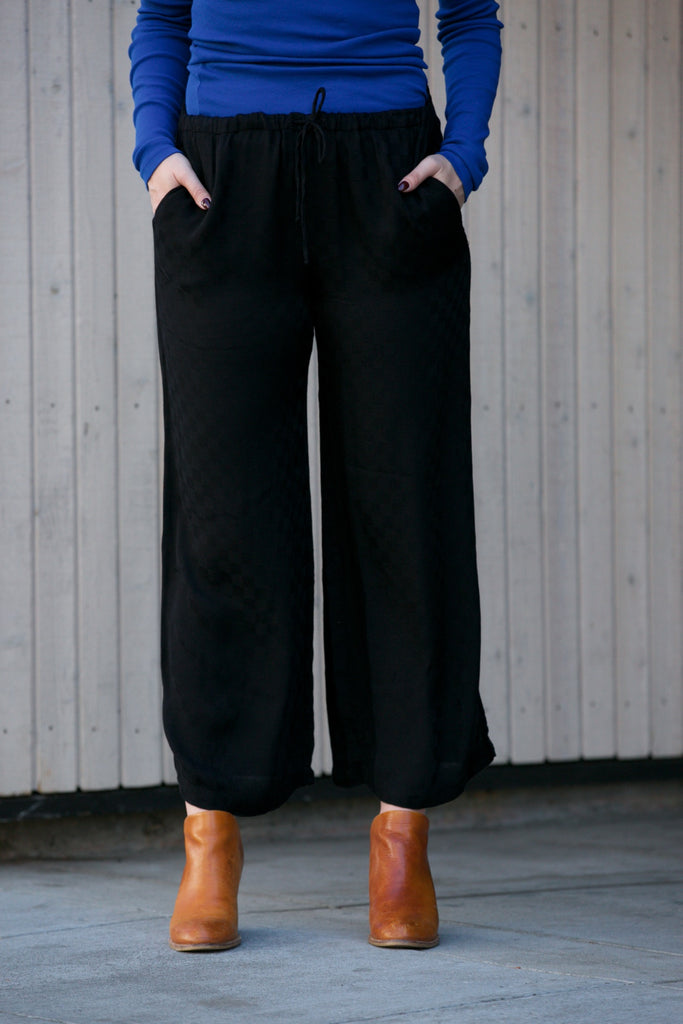 LACAUSA Charlotte Pant in Tar