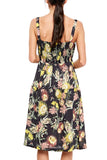 LACAUSA Maiden Dress in Garden Floral