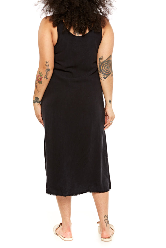 LACAUSA Reversible Silk Dress