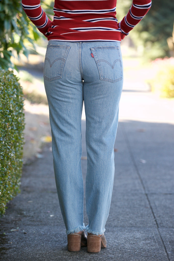 LEVI'S Wedgie Fit Jeans in Collateral Damage