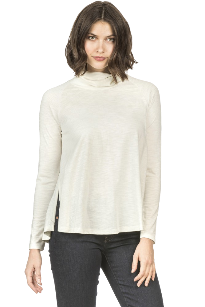 Lilla P Swing Turtleneck Winter White