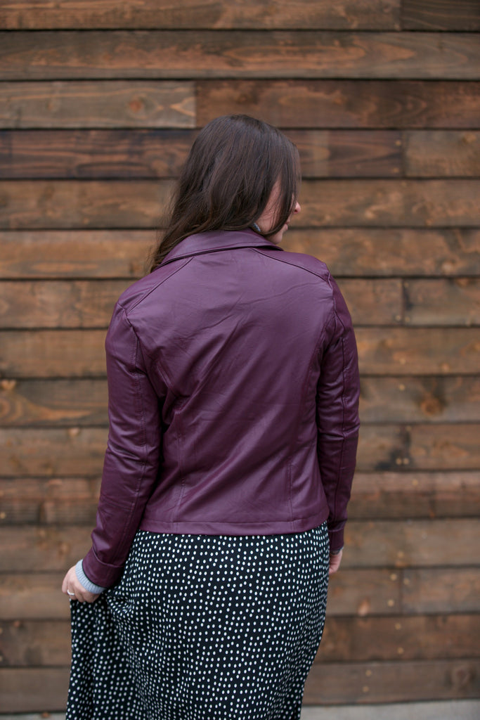 Lysse Classic Moto Jacket Fig